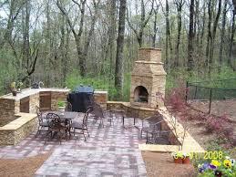 Outdoor Fireplace Patio Designs Custom Outdoor Patio Kitchens With Outdoor Fireplace