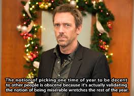 11 times house proved he u0027s the worst christmas party guest 8