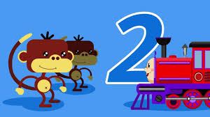 educational cartoon for toddlers for learning counting to 5 with