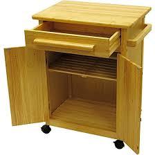 Small Two Door Cabinet Rolling Kitchen Cart Storage Beachwood Two Door Cabinet Weels Side