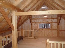Timber Frame Barn Homes Timber Frame Barn Hartford Maine