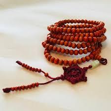 wood beaded necklace images Oak wood beaded necklace bracelet ethniz inc jpg