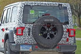 2018 jeep wrangler jl 2 door spied zf 8 speed auto and other spied next jeep wrangler caught nearly undisguised motor trend