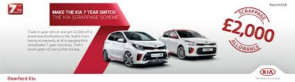 trading in a brand new car new used kia car dealership romford essex romford kia