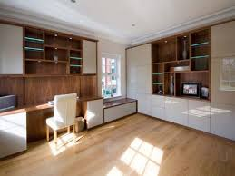 Home Office Fitted Furniture Fitted Wardrobes In Leeds - Contemporary fitted living room furniture