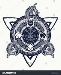 celtic cross tattoo art tshirt design stock vector 551139961
