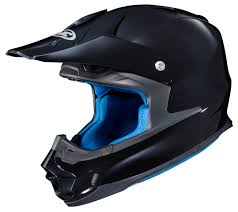 motocross helmet and goggles hjc fg mx helmet revzilla