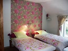 chambre fleurie chambre fleurie lits jumeaux