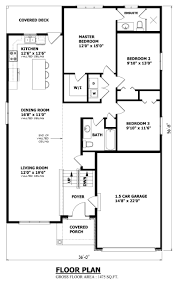 Floor Plans For Bungalow Houses Raised Bungalow House Plans House Design Plans