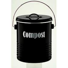 compost canister kitchen vintage kitchen compost bin black wholesale kitchen miscellaneous