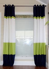 Green And Beige Curtains Inspiration Best 25 Color Block Curtains Ideas On Pinterest Blue Flat