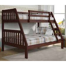Riley Twin Over Full Bunk Bed Hayneedle - Donco bunk beds
