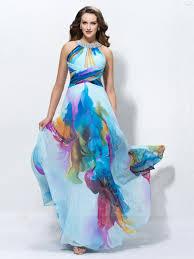 charming a line floor length jewel sleeveless sequins backless