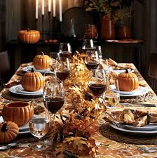thanksgiving table settings crate and barrel