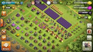 big clash of clans base feature sorted upgrade base