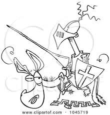 royalty free donkey illustrations toonaday 1