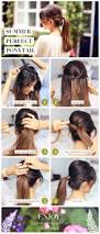 Simple And Cute Hairstyle by Step By Step Summer Perfect Ponytail For Those Days Or Second