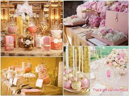 Pink Wedding Candy Buffet by 127 Best Gold Champagne U0026 Pink Wedding Images On Pinterest
