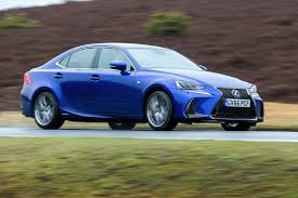 lexus sports car blue lexus is300h 2017 review by car magazine