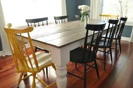 DIY Farmhouse Table Plans  Ideas For Your Dining Room Free - Diy dining room table plans