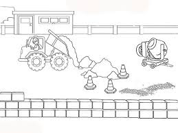 construction coloring pages coloringstar