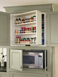 Microwave Kitchen Cabinets by Farmhouse Addition What U0027s Old Is New Again Microwave Storage