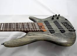 fanned fret 6 string bass sold ibanez 2015 bass workshop srff806 fanned fret 6 string bass w
