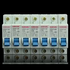 Magasin Toff En Belgique by 10 63a Miniature Mcb Disjoncteur Circuit Breaker Dz47 63 Ac230