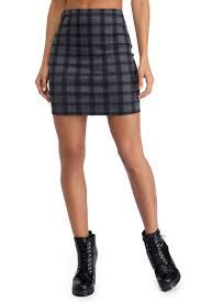 plaid skirt sale gray plaid perfection mini skirt