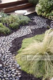 riverbed pathway google search brianne backyard pinterest
