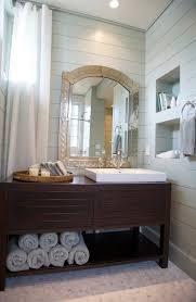 Modern Cottage Bathroom Modern Washstand Cottage Bathroom Tracery Interiors