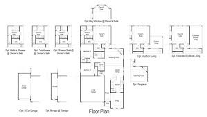 Floorplan Com Dahlia Floor Plan At Grand Vista 45s In Richmond Tx Taylor Morrison