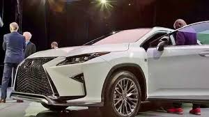 2016 lexus rx youtube 2016 lexus rx f sport live at ny autoshow youtube