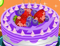 bake birthday cake cooking games