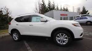 silver nissan rogue 2014 nissan rogue sv ec754777 white kent tacoma youtube