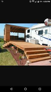 Portable Rv Patio by 28 Best Camper Deck Ideas Images On Pinterest Camping Ideas Rv