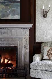 appealing bedroom with fireplace for calmness rest get the look ornate mantels traditional home