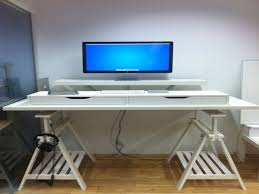 Diy Standing Desk Ikea by Ikea Billy Bookcase Extra Shelf Diy Ikea Standing Desk Standing
