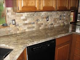 Kitchen Stone Backsplash by Kitchen White Kitchen Backsplash Photos Black Countertop White