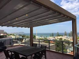 helioscreen retractable roofing systems for pergolas