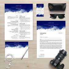 Instant Resume Template Resume Template Package Cv Template Cover Letter
