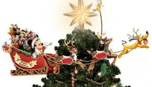 disney discovery kurt adler mickey mouse treetop table topper