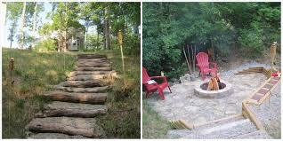 backyard rock fire pit ideas backyard fence ideas
