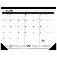 Desk Agenda 2016 Monthly Desk Calendar Office Schedule Planner Table Agenda