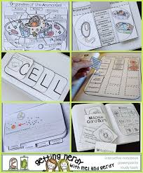 over 30 interactive notebook activities for teaching cell