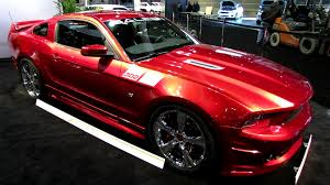 Ford Mustang 2014 Black 2014 Ford Mustang Saleen 302 Black Label Exterior And Interior