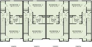 three plex floor plans 4 plex house plans 14 j 12 renderingmid photograph representation