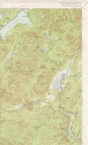 lake pleasant map lake pleasant ny quadrangle