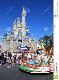 Disney World Map Magic Kingdom by Parade In Magic Kingdom Castle In Disney World In Orlando