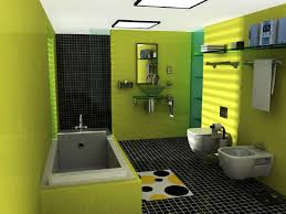 Simple Bathroom Tile Ideas Colors Bathroom Simple Bathroom Design With Green Wall Paint Color Also